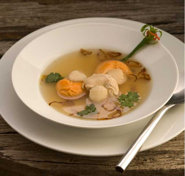 Scallop Lemongrass Soup