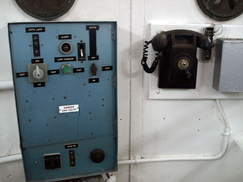 Lighthouse control panel